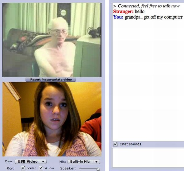 funny chat roulette. Funny Chatroulette Epic Moment