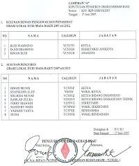 Pengurus Lokal Duri