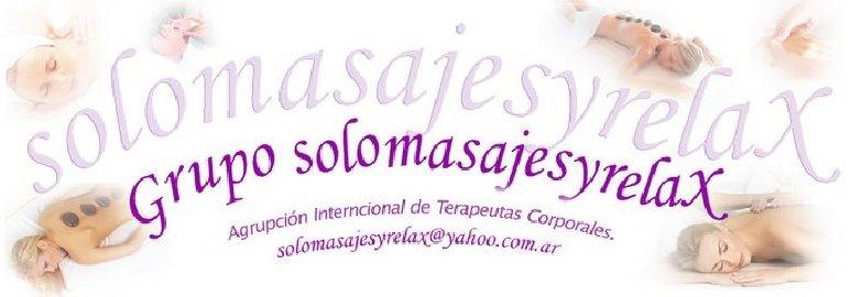 Bienvenidos al blog de fotos de Solomasajesyrelax