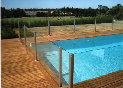 Juluz cercos perimetrales piscinas decks - Vidrios para piscinas ...