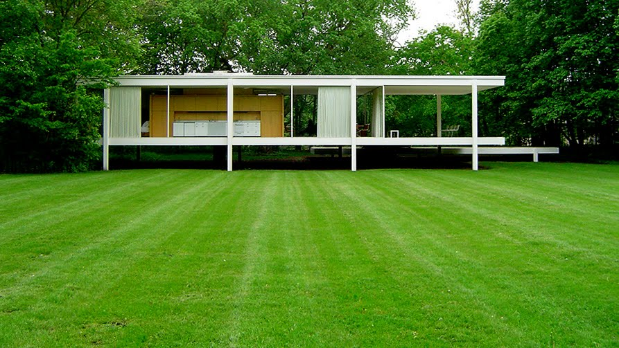 today 39 s random wikipedia entry farnsworth house. Black Bedroom Furniture Sets. Home Design Ideas