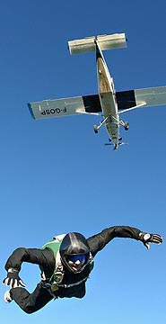 Steve Truglia set world record,highest parachute jump record,world records 2010