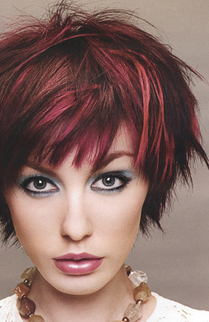 punk short hairstyle. Short Hairstyles Punk.