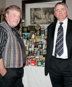 World Largest Tea Caddies Collection picture, Graham Brooks tea-caddy collection photo, Guinness world Record 2010
