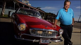 World's Highest Mileage Car photo, Volvo P1800  picture, Guinness Book of World Records 2010, world longest drive car, Highest Mileage Volvo P1800 video