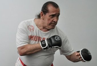 Dr John Williams photo, oldest fighter to ever picture, John Williams fight video, Guinness world record 2010, Mixed Martial Arts fighter, boxing champions, multiple blocks of ice, Dr John Williams pics