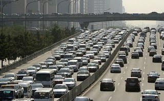 World Longest Traffic Jam photo, Massive Traffic Jam in World, world's worst traffic jam picture, china Traffic Jam video, world's largest traffic jam, heavy traffic jams in china