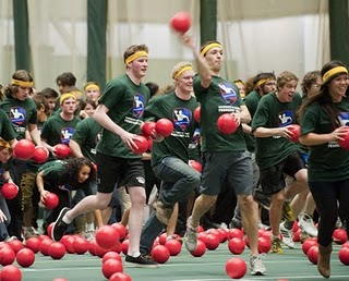 World's Largest Dodge ball Game 2011, World's Largest Dodgeball Game video, Alberta Students Guinness World Record 2011, World's Largest Dodgeball Game picture, University of Alberta Dodgeball Game world record, Largest Dodgeball Game 2011