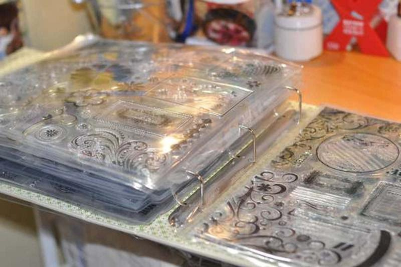 Ideas For Scrapbookers Stamp Storage
