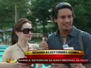 Richard Gomez, Lucy Torrez, Wendell Ramos, John Estrada,Wilma Doesn't, Philippine Showbiz Celebrity News