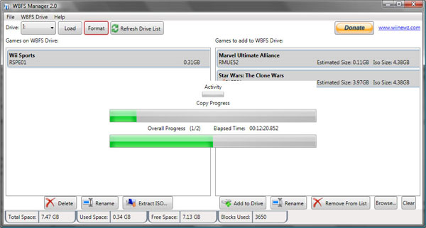 descargar wbfs manager 3.0 softonic