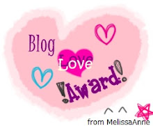 Blog Love Award! :)