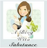 A Blog With Substance Award! :)
