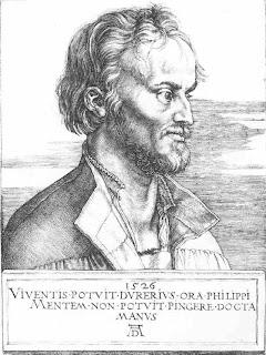 Billede af Melanchthon fra 1526