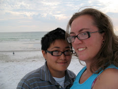 Me (on right) and Diana at Beach