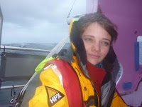 Jessica rounding Cape Horn
