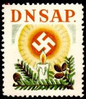 1938 Nazi Xmas stamp