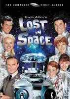 the DVD cover of the complete re-released Lost In Space Season One