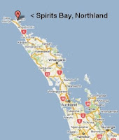 Where is Spirits Bay?