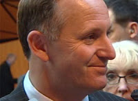 a very happy John Key...and rightly so!