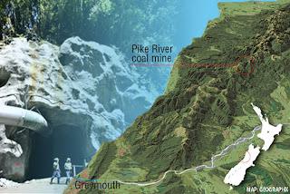 Where is Pike River Coal mine?