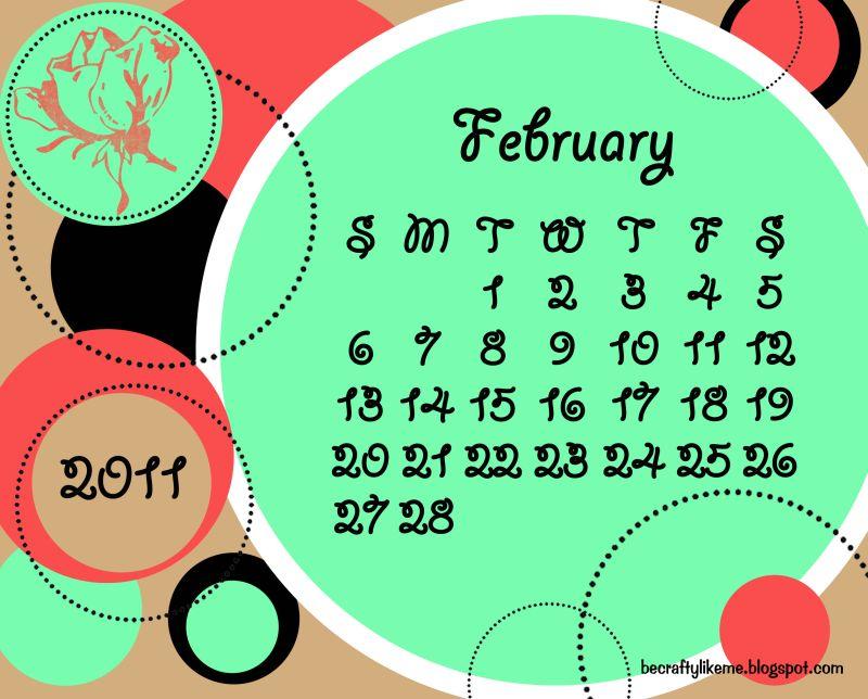february 2011 wallpaper. february calendar 2011