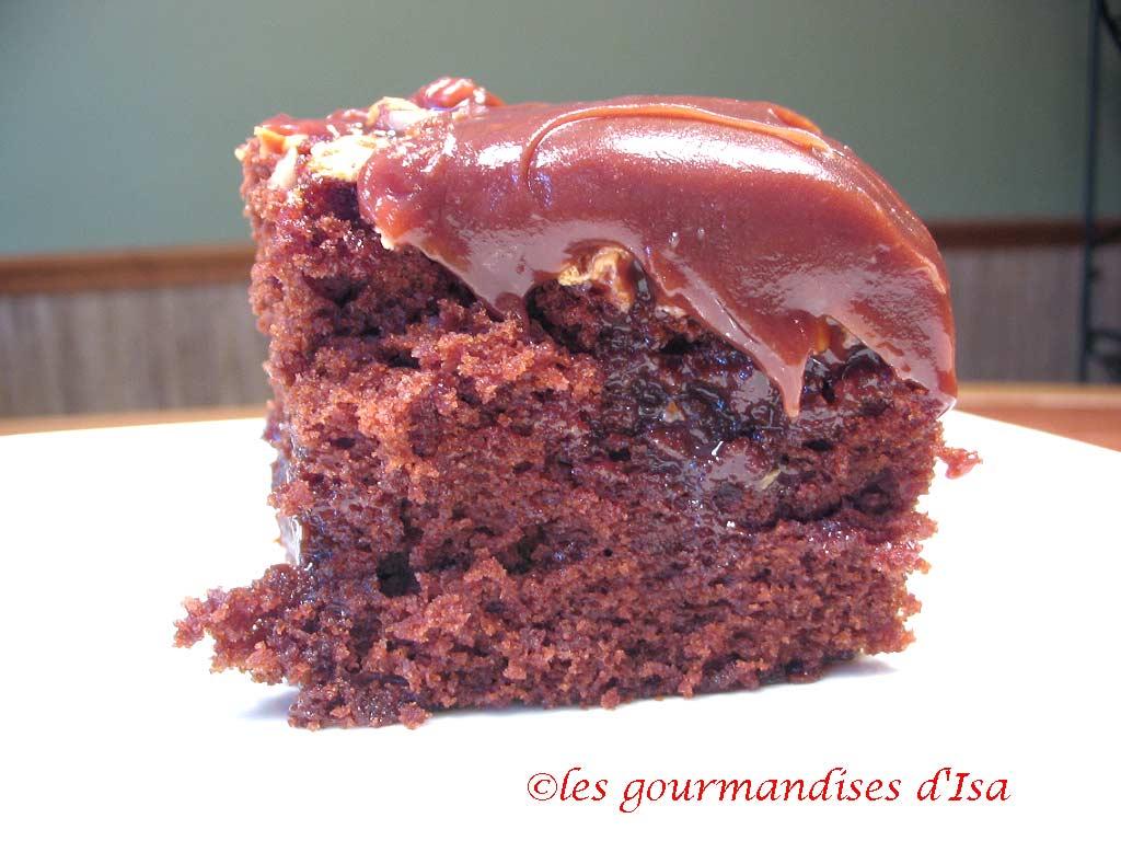 Recette Mississippi Mud Cake