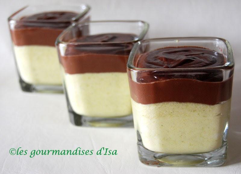 verrines pistache chocolat