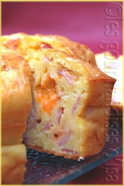 Cake Au Jambon Gruy Ef Bf Bdre Et Olive Marmiton