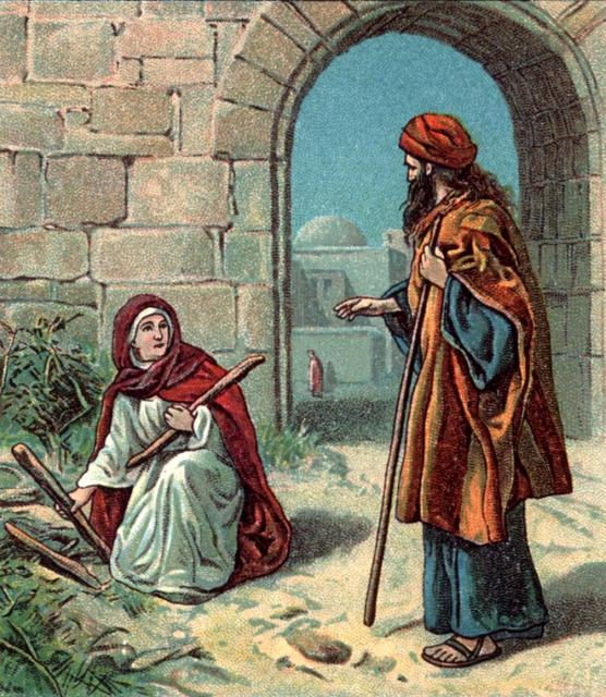 Elijah And The Widow Woman http://pastorofmyhouse.blogspot.com/2010_07_01_archive.html