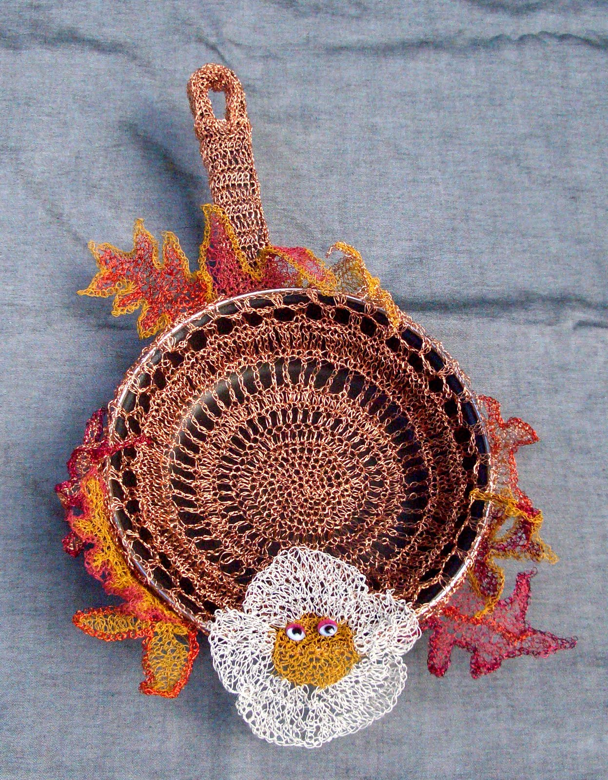 "Crochet Queen: Royal Ramblings: ""Out of the Frying Pan, Into the Fire"""