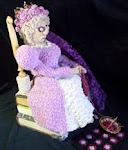 """Crochet Queen: A Self Portrait"""