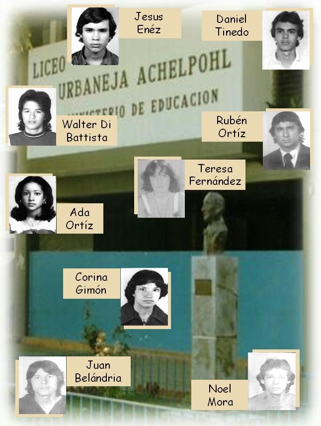 FOTOS LUA 1978. Grupo IV.