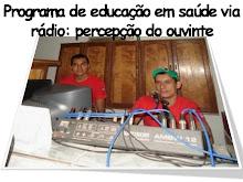 Programa de educação em saúde via rádio: percepção do ouvinte