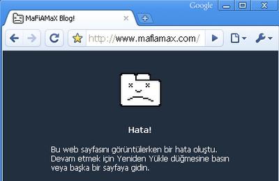 Hata sayfası
