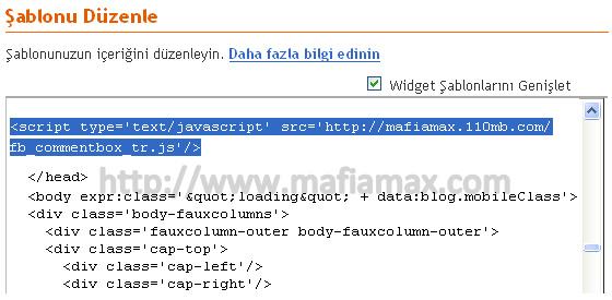 JavaScript dosyasını ekleyin