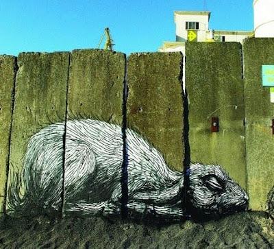 Rats Graffiti Street Art