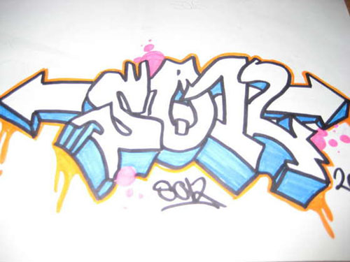 Sketches Graffiti Style
