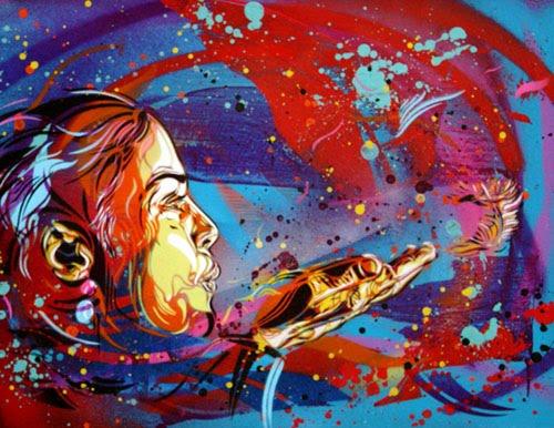 Various Graffiti Art Style