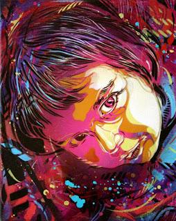 Nina Graffiti Stencil Spray Paint