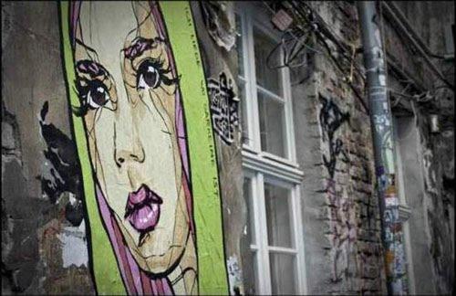 El Bocho Graffiti Street Art in Berlin Mitte