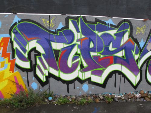 2010 Graffiti Alphabet Street Art