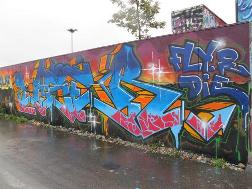 Fly And Die Graffiti Copenhagen