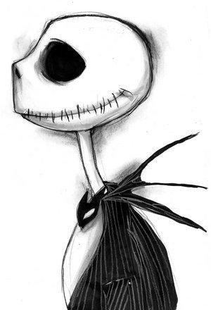 Nightmare Before Christmas Jack Skellington Drawings