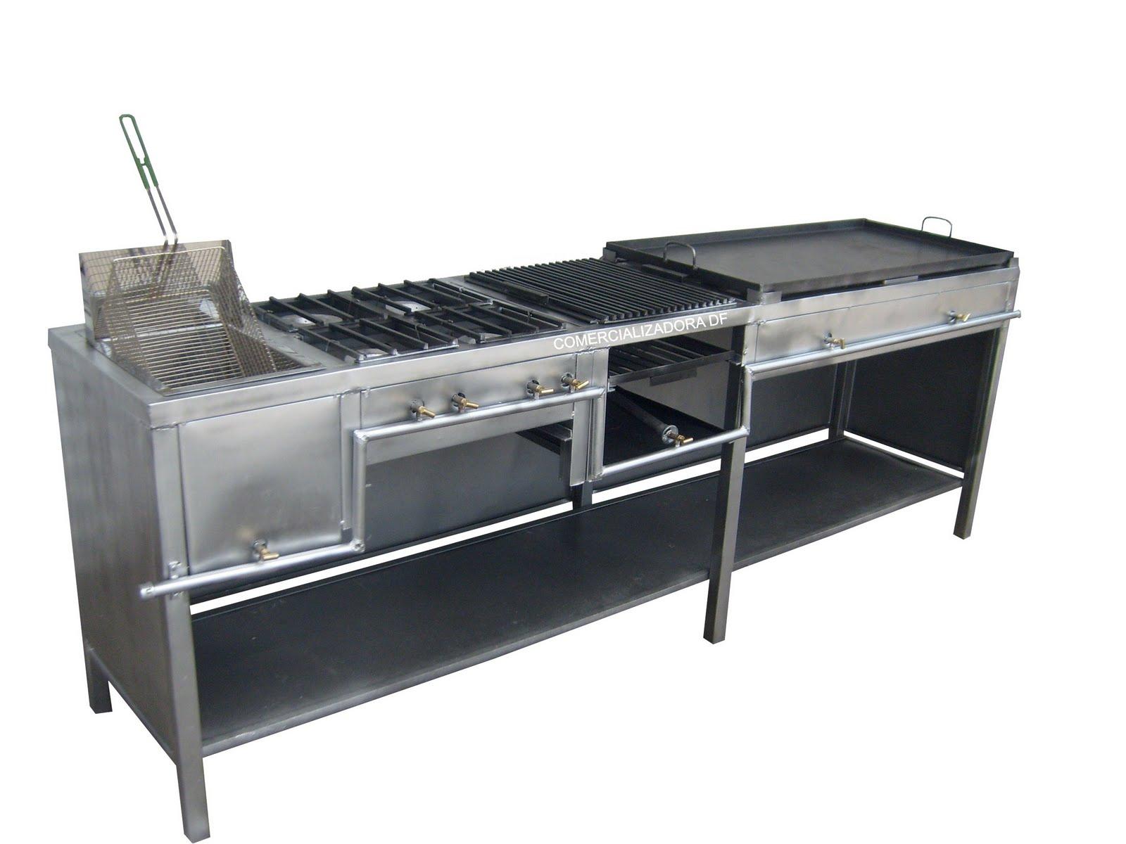 Freidora estufa con 4 hornillas asador y plancha 4 en 1 for Planchas para forrar banos