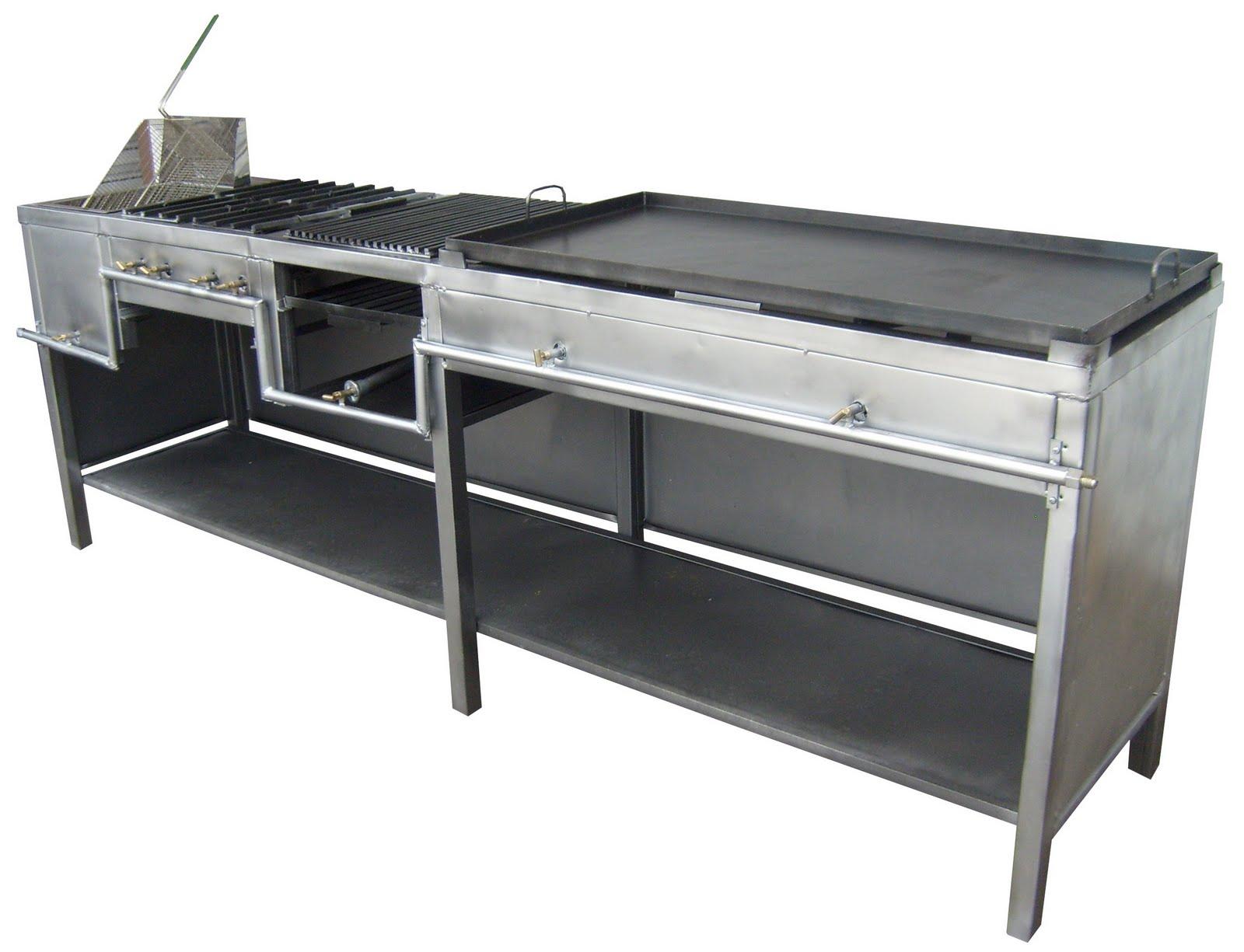 Freidora estufa con 4 hornillas asador y plancha 4 en 1 - Planchas para cocinar a gas ...