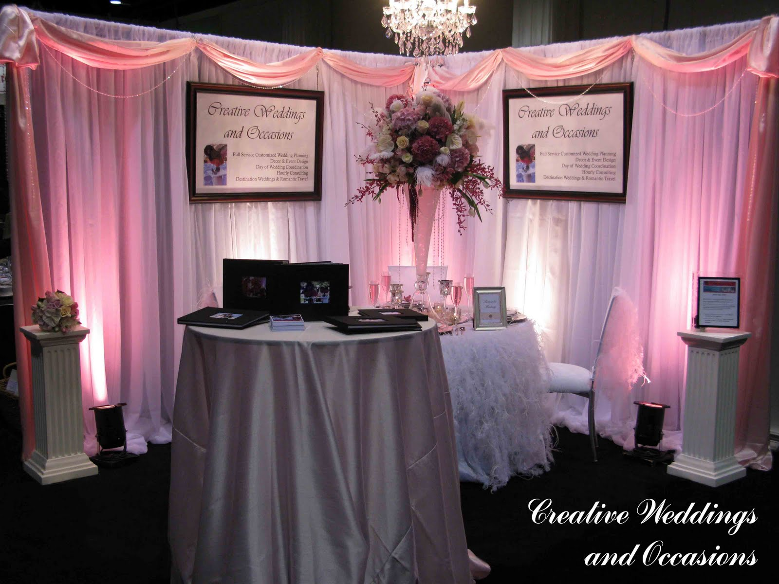 Wedding Planner Bridal Show Booth Ideas : Creative weddings and occasions you went to bridal
