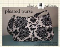 pleated purse pattern