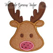 Reindeer Applique Designs - Little Applique Factory