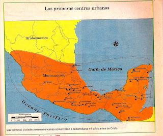 mapa culturas prehispanicas de Mxico  Yahoo Respuestas